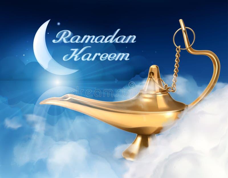 Fond de Ramadan Kareem illustration libre de droits