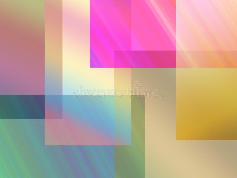 Fond de rectangles illustration de vecteur