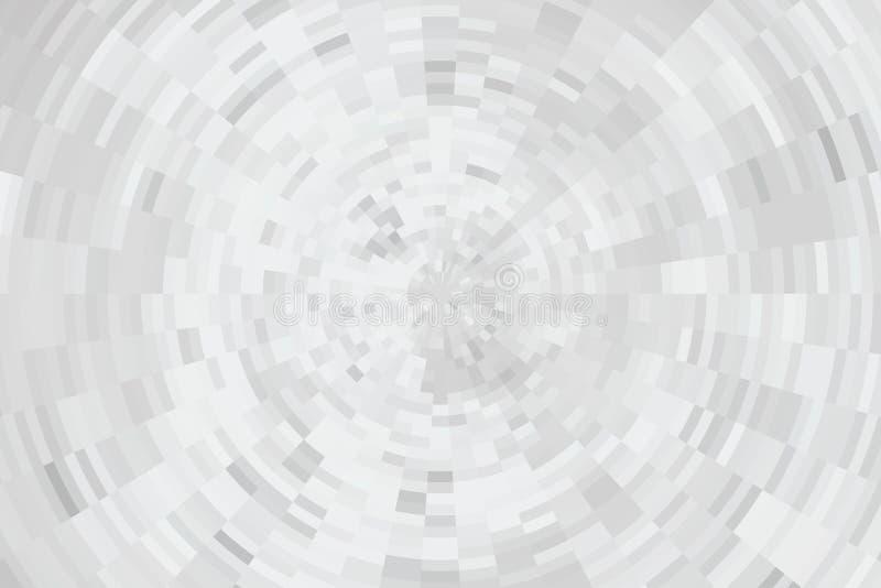 Fond de remous dans des tons gris doux illustration de vecteur