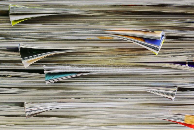 Fond de revues photographie stock libre de droits