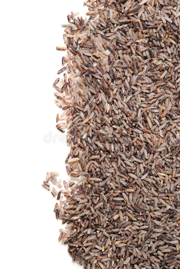 Fond de riz brun images libres de droits