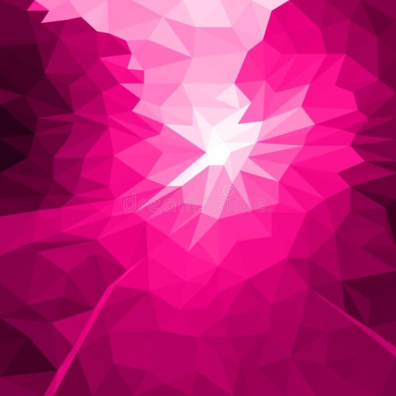 Fond de rose d'abrégé sur vecteur d'instantané ou de léger illustration de vecteur