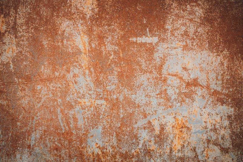 Fond de rouille en m?tal, vieille texture de rouille de fer en m?tal, rouille sur la surface photos libres de droits