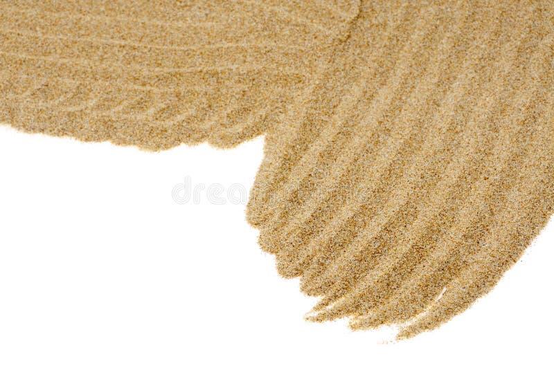 Fond de sable image stock