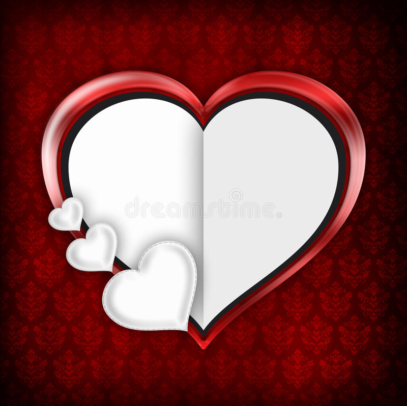 Fond de Saint Valentin illustration stock