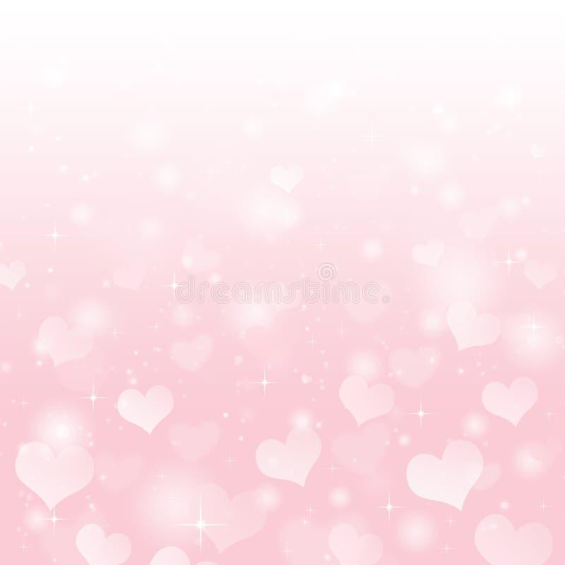 Fond de Saint-Valentin illustration de vecteur