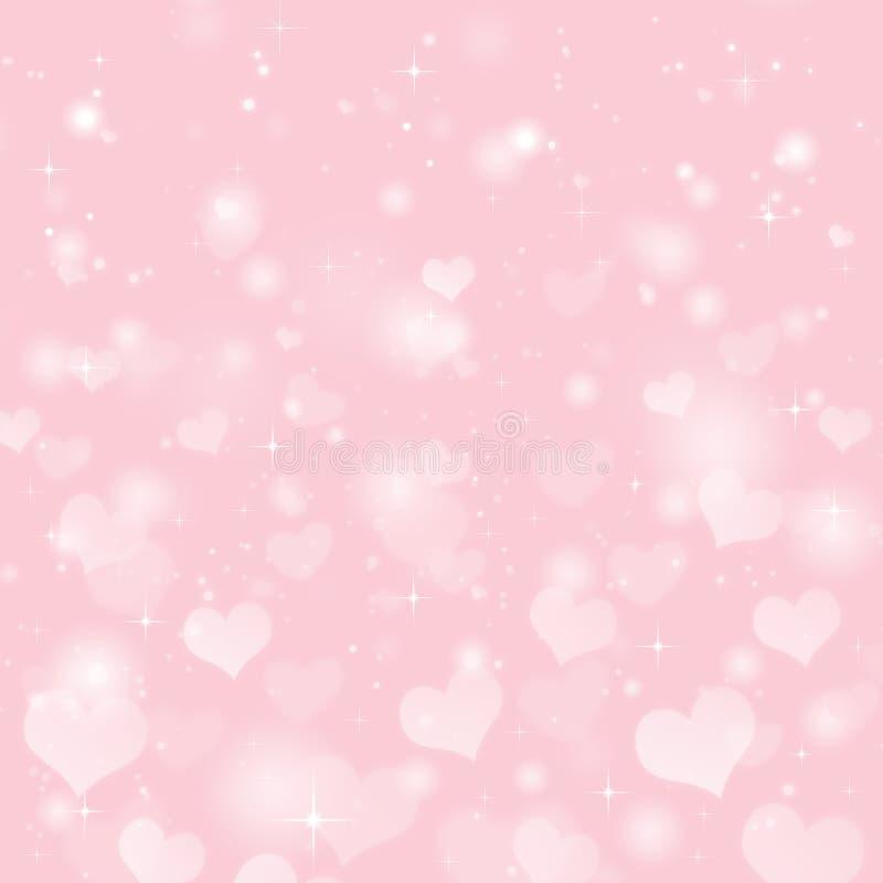 Fond de Saint-Valentin illustration libre de droits