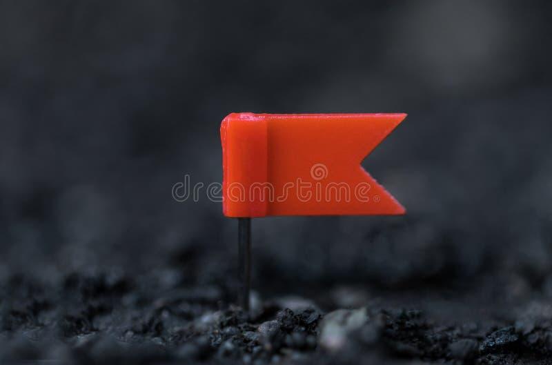 Fond de sol et alerte minuscule image stock