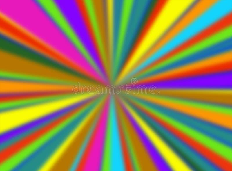 Fond de spectre illustration stock