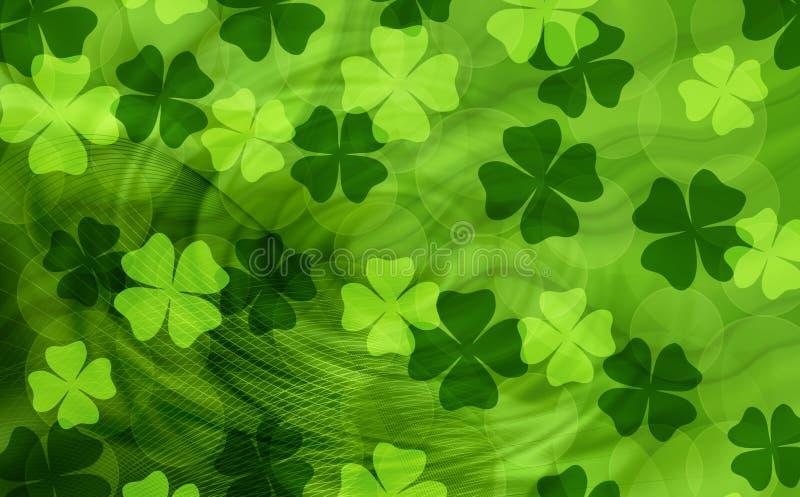 Fond de St Patrick illustration libre de droits
