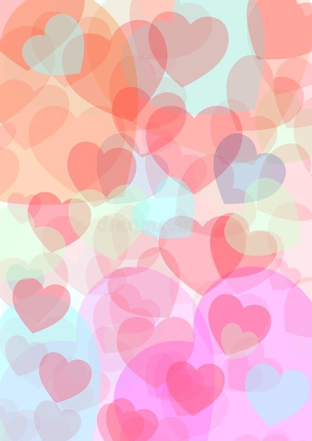 Fond de St Valentine images libres de droits