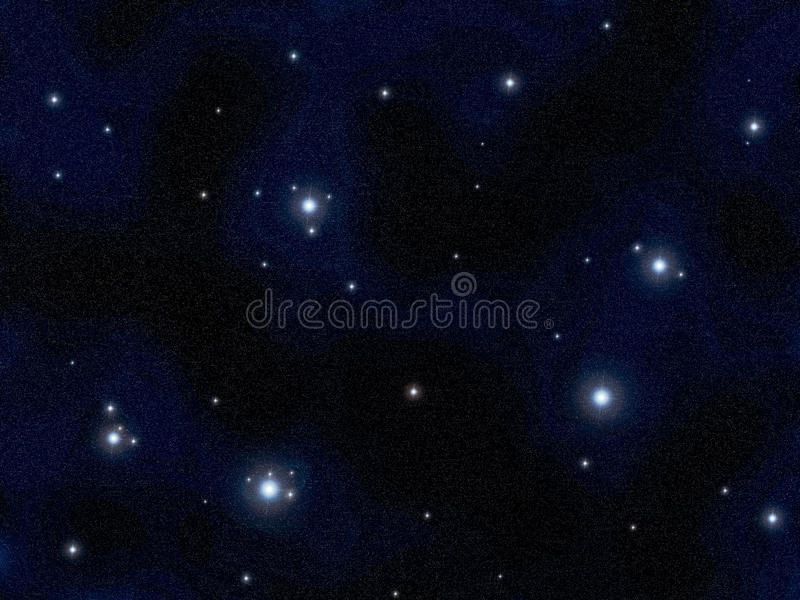 Fond de Starfield illustration libre de droits