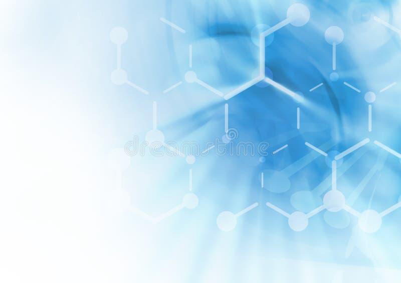 Fond de structure de molécule d'ADN photo stock