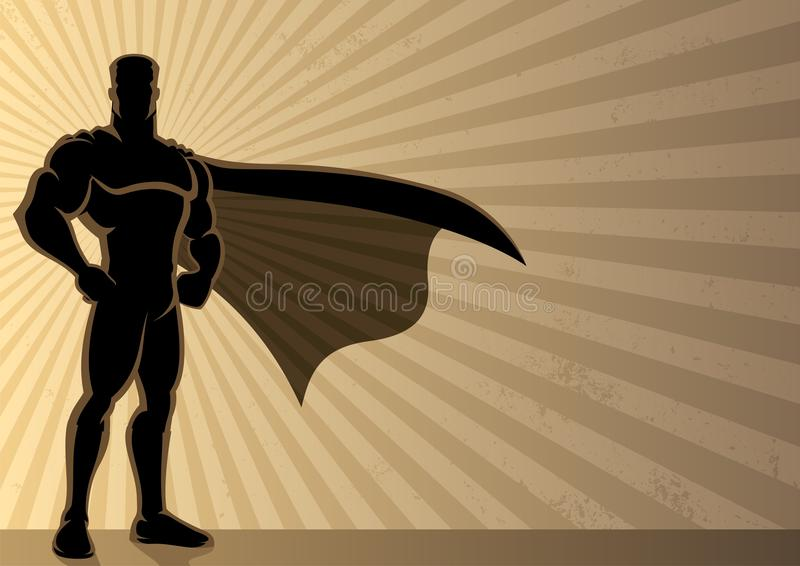 Fond de Superhero illustration stock