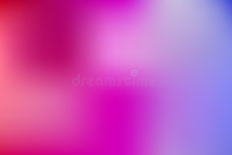 fond de tache floue d'abrégé sur vecteur pour le webdesign, papier peint brouillé par gradient coloré illustration stock