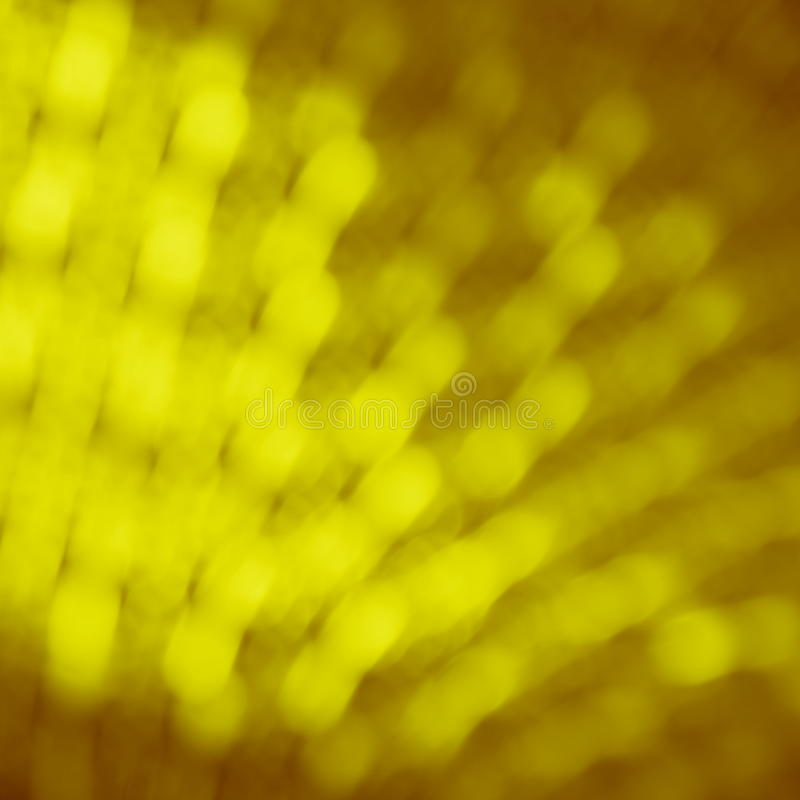 Fond de tache floue de jaune d'or  photographie stock libre de droits