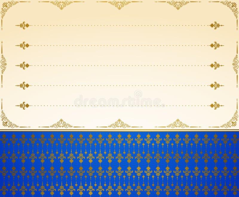 Fond de tapisserie de cru. illustration libre de droits