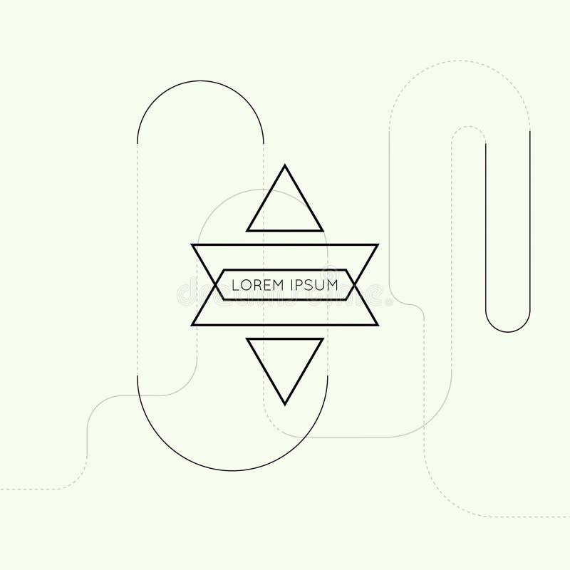 Fond de techno de vecteur de hippie illustration de vecteur