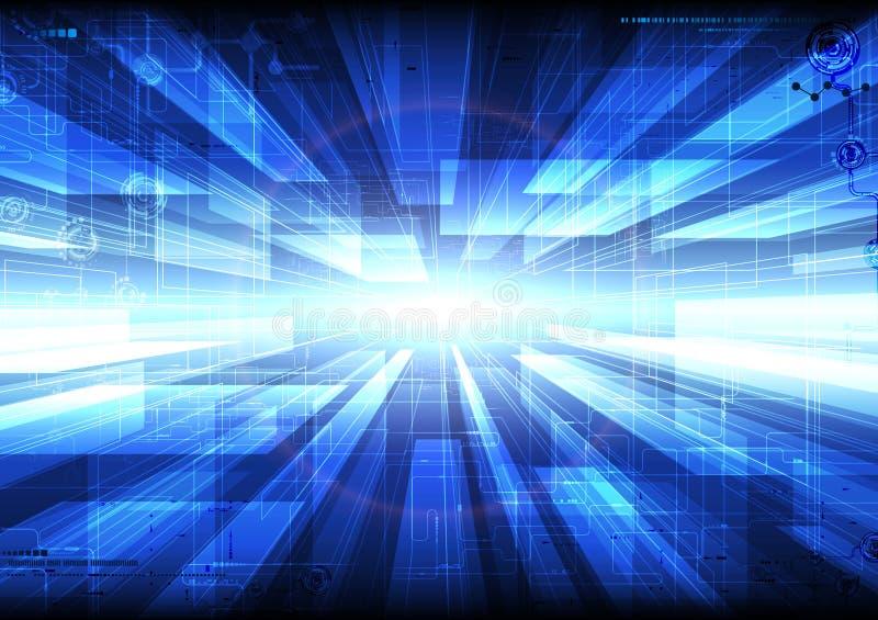 Fond de Tecnology illustration libre de droits