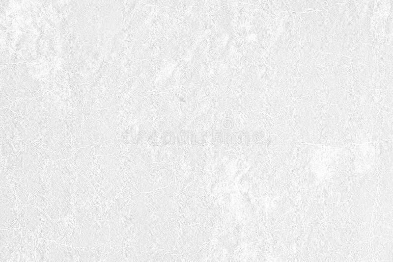Fond de texture de cuir blanc utilisé en tant qu'espace classique de luxe pour la conception des textes ou de contexte d'image image libre de droits