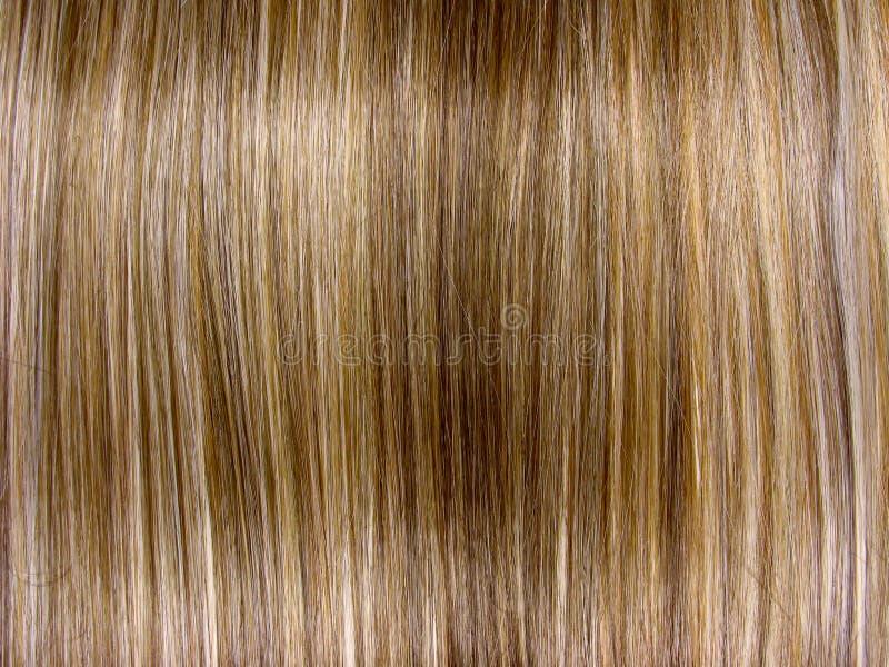 Fond de texture de cheveu de point culminant photo libre de droits