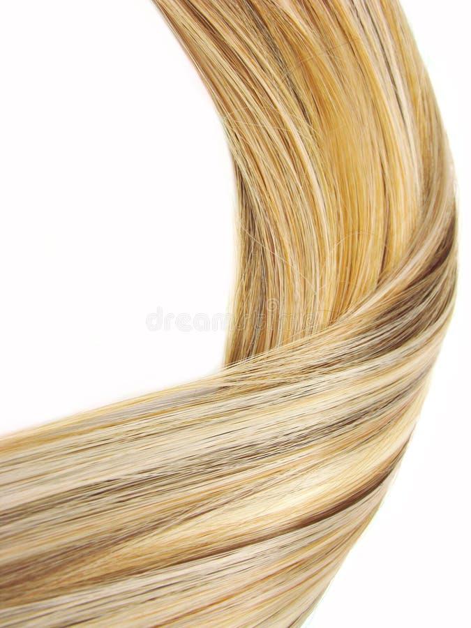 Fond de texture de cheveu de point culminant photographie stock libre de droits