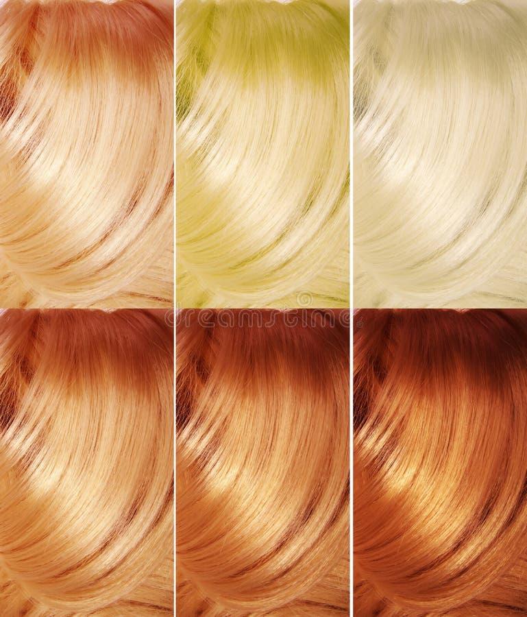 Fond de texture de cheveu de point culminant photos libres de droits