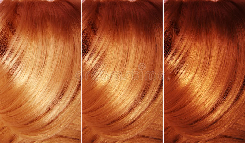 Fond de texture de cheveu de point culminant photographie stock