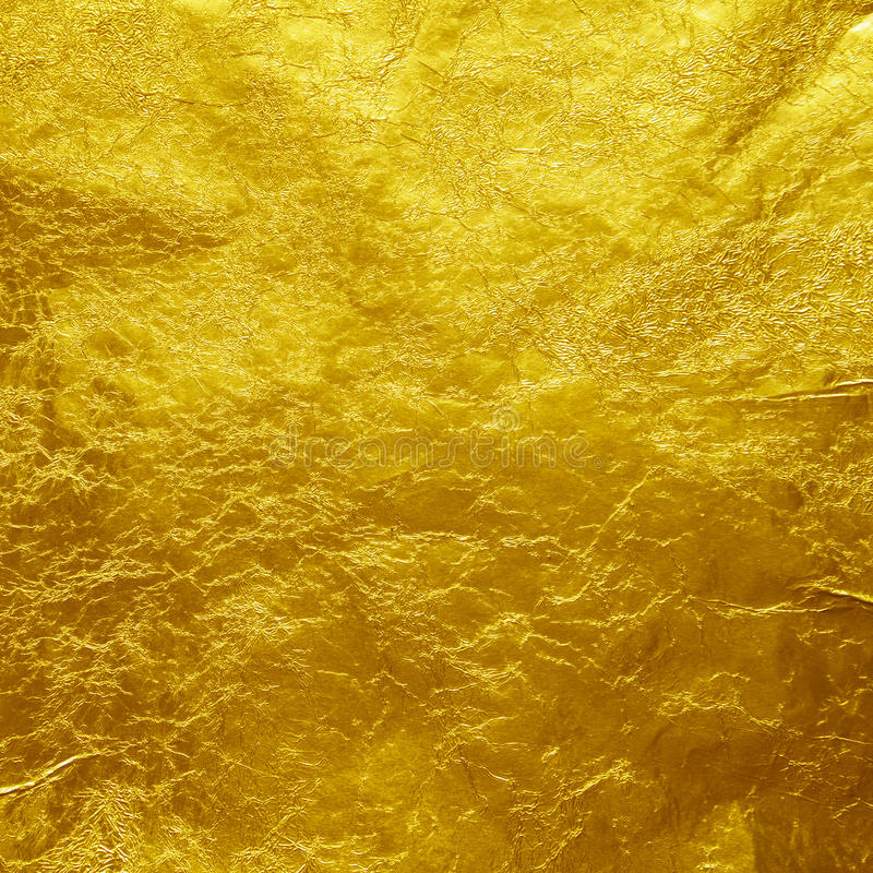Fond de texture de feuille d'or photos libres de droits