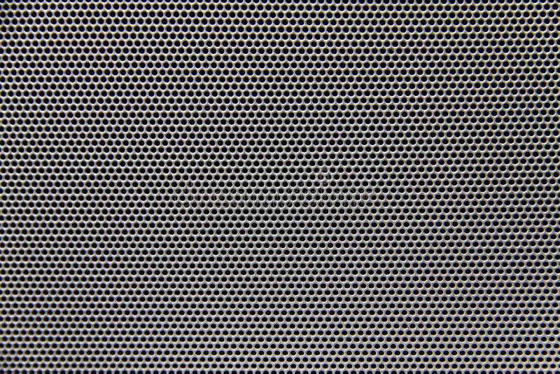 Fond de texture de gril de haut-parleur images libres de droits