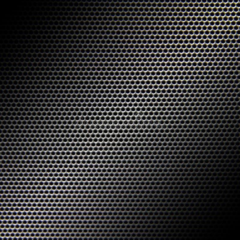 Fond de texture de gril de haut-parleur image stock