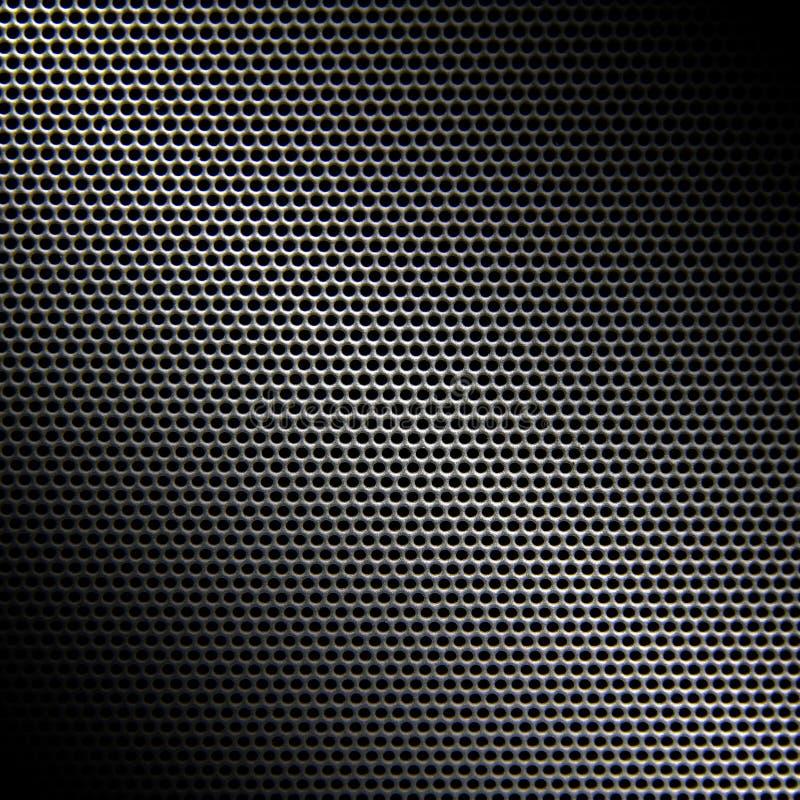 Fond de texture de gril de haut-parleur photo stock