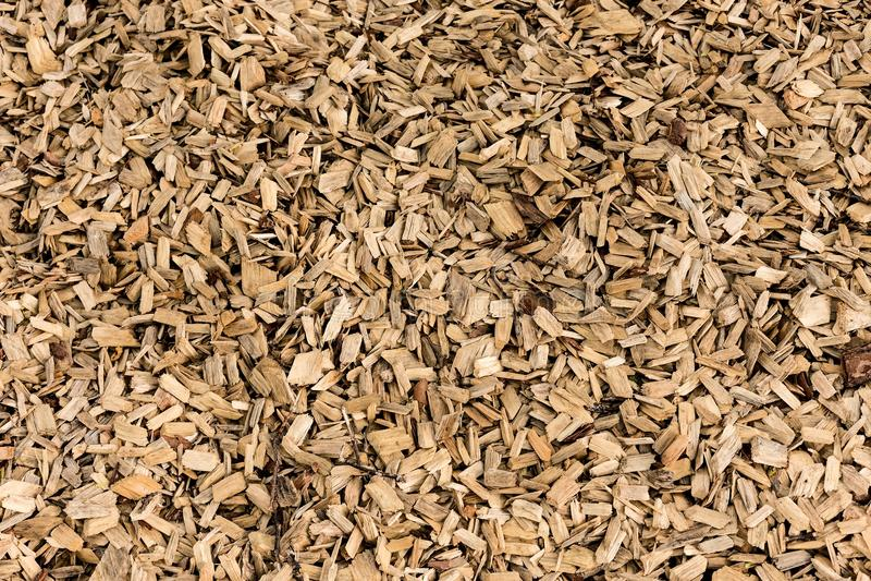 Fond de texture de paillis d'écorcement en bois photos stock