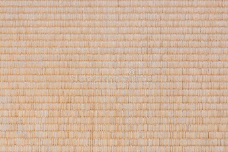 Fond de texture de tapis de Tatami photo stock