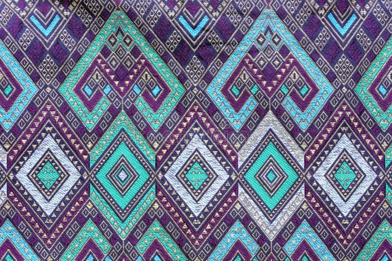 Fond de texture de tissu de tissu de batik images stock