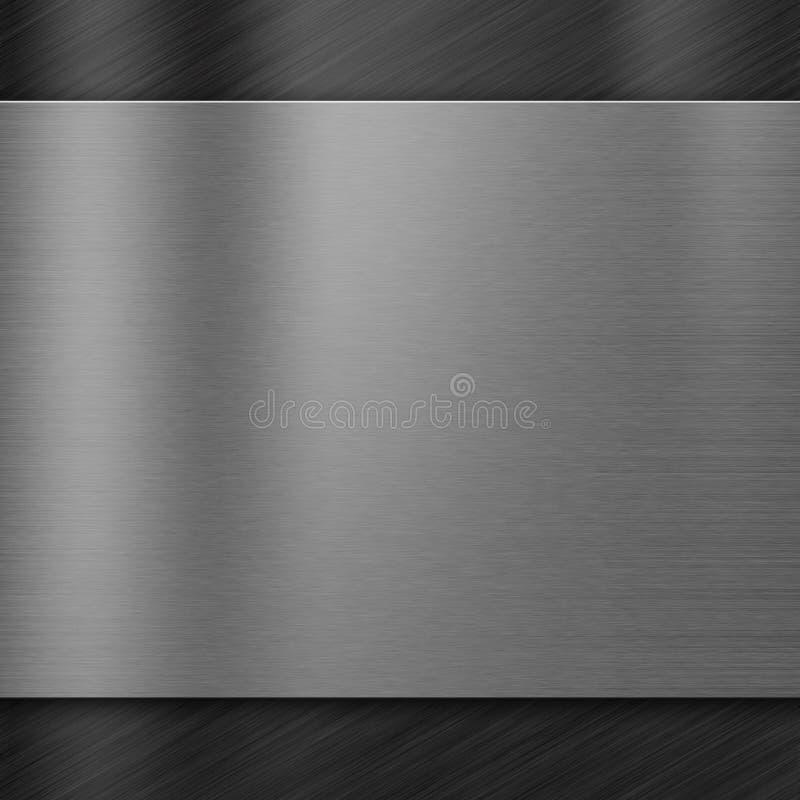 Fond de texture en métal illustration stock