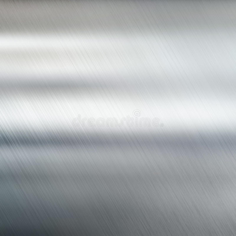 Fond de texture en métal Acier balayé images stock