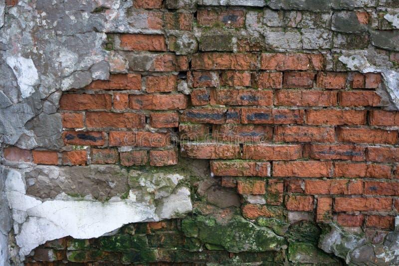 Fond de texture de mur de briques de fente image stock
