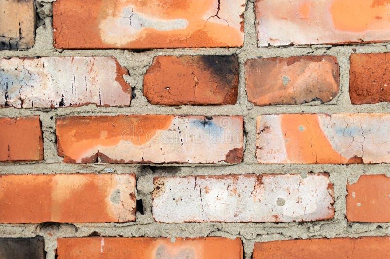 Fond de texture de mur de briques Fin vers le haut image libre de droits