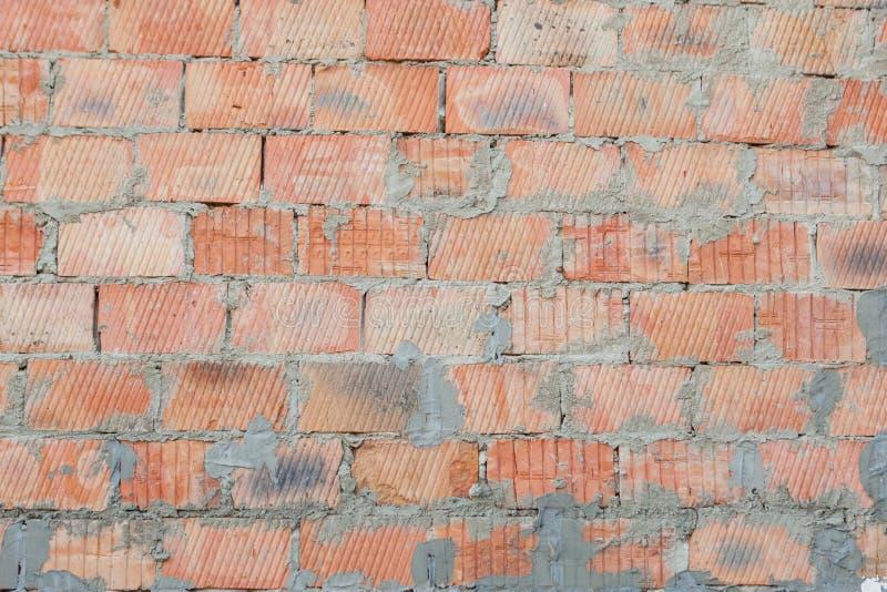 Fond de texture rouge de mod?le de mur de briques Grand pour des inscriptions de graffiti photo libre de droits