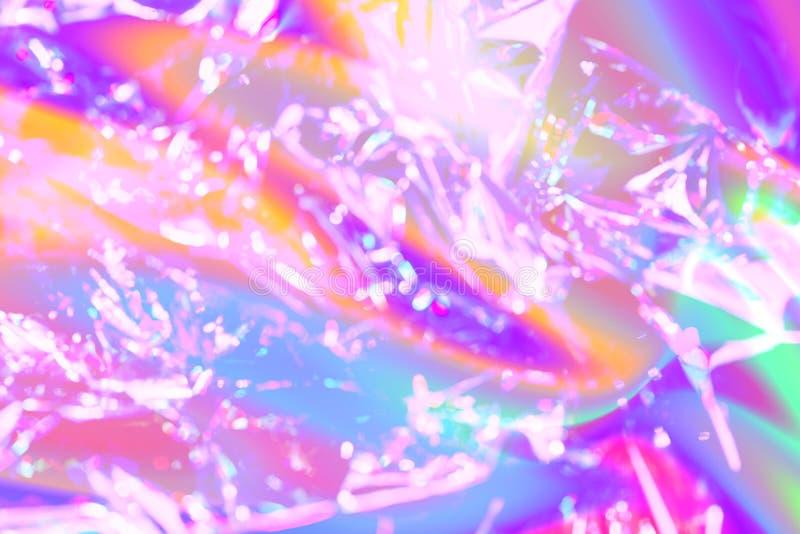 Fond de texture de style de Vaporwave : texture g?niale rose au n?on de peinture image libre de droits
