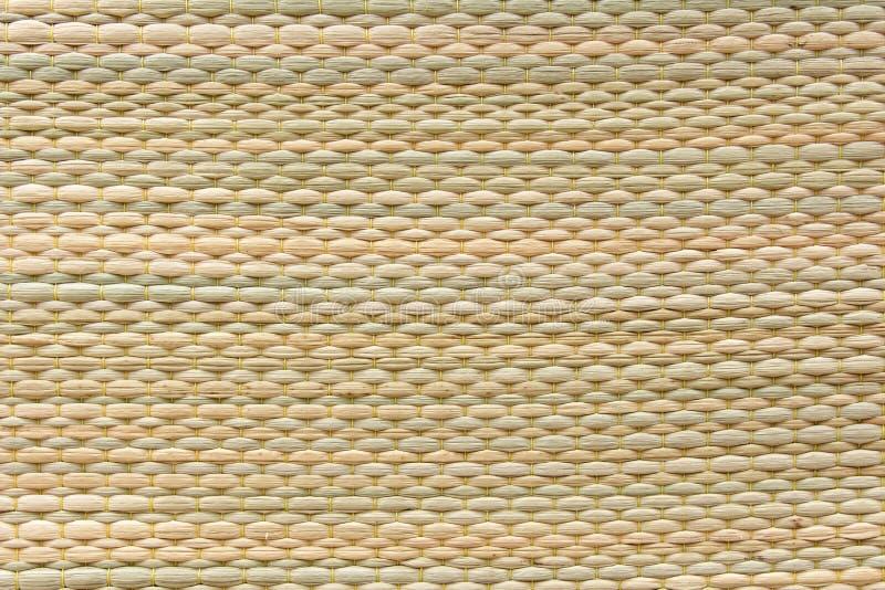 Fond de texture de tapis de Reed Difformis tissés de cyperus image stock