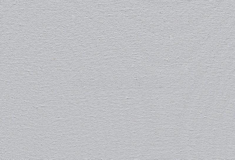 Fond de texture de toile de coton amorcé par blanc image libre de droits