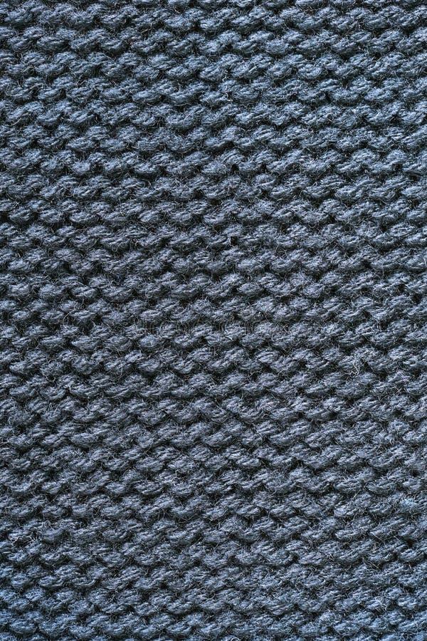 Fond de texture tricoté par gris photos stock