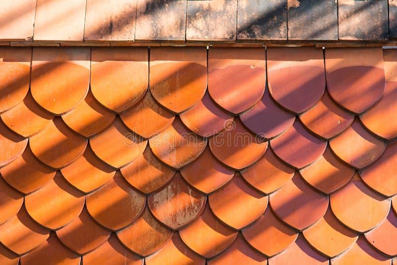 Fond de texture de tuiles de toit photo libre de droits