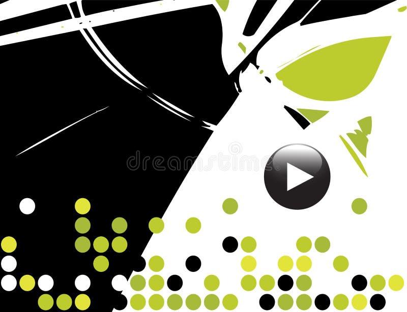 Fond de thème musical illustration de vecteur