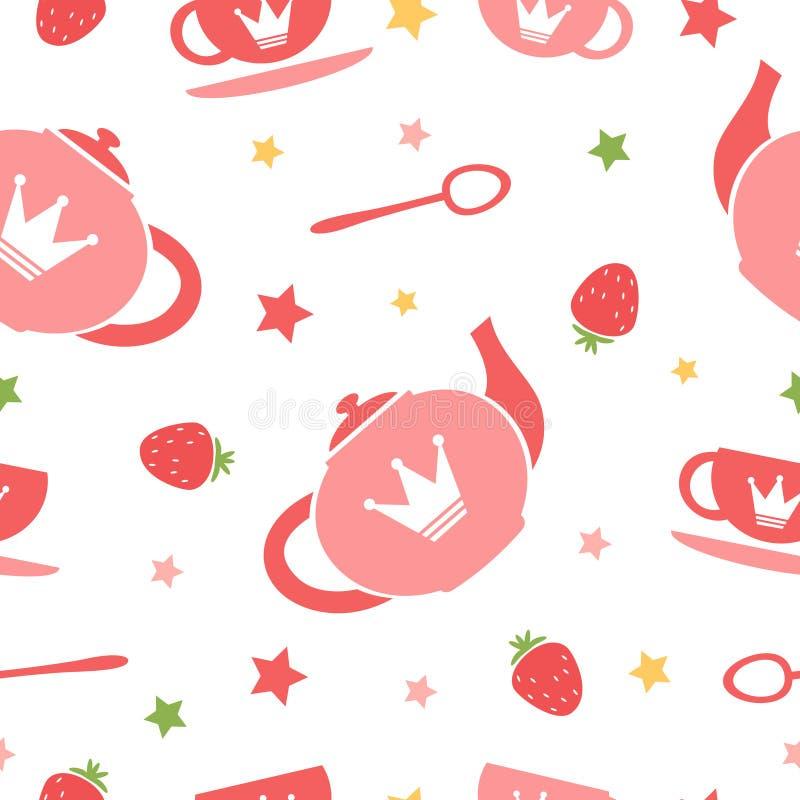 Fond de thé illustration de vecteur