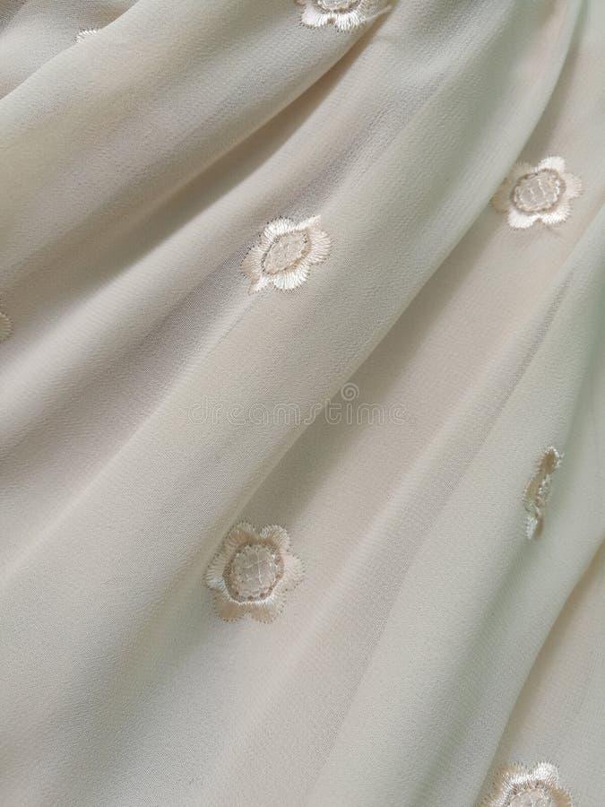 Fond de tissu de mousseline de soie photographie stock