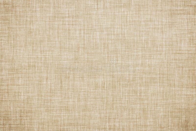 Fond de toile coloré beige naturel de toile de texture ou de cru illustration stock