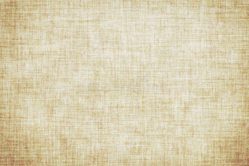 Fond de toile coloré beige naturel de toile de texture ou de cru illustration de vecteur